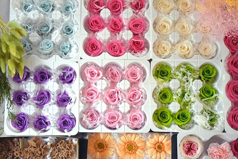 プリザーブドフラワーってどんなお花?