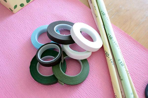 フローラルテープ