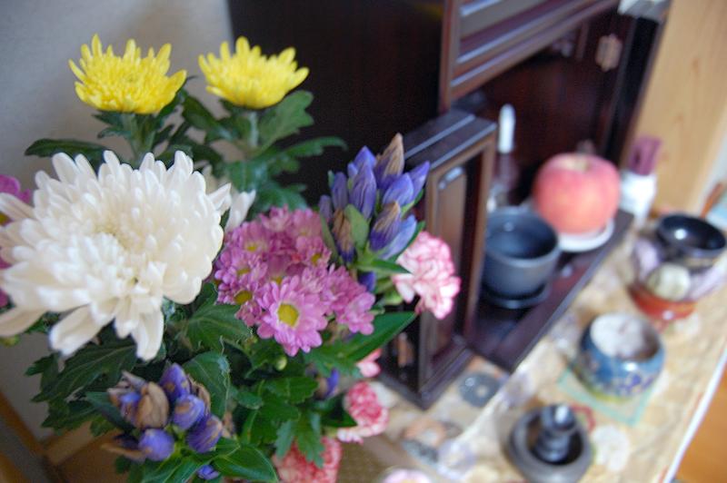 お仏壇に飾るお花は決まっているの?