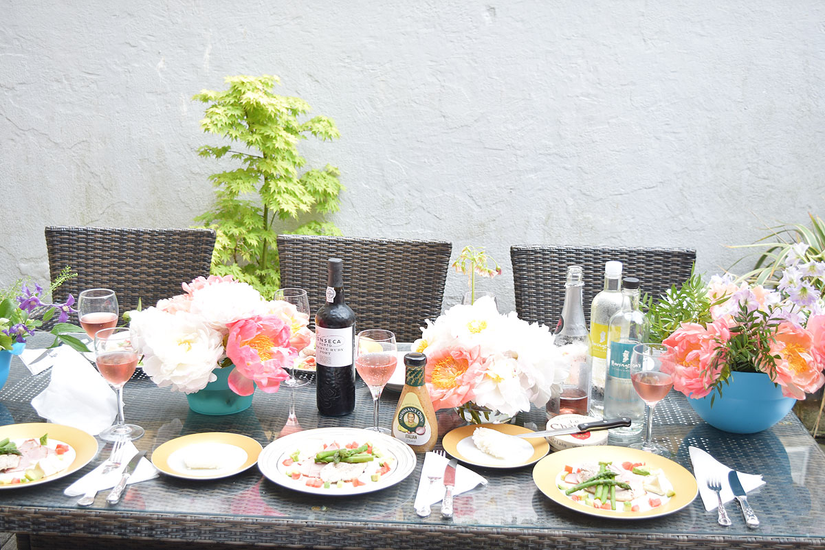 テーブルのお花の飾り方