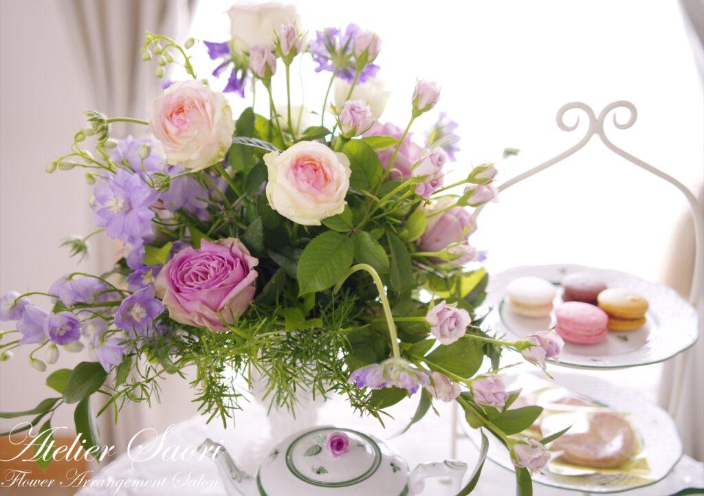 【FWJ認定校紹介】兵庫県西宮市 Atelier Saori Flower Arrangement Salon