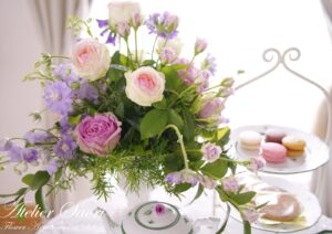 【FWJ認定校紹介】兵庫県西宮市 Atelier Saori Flower Arrangement Salon
