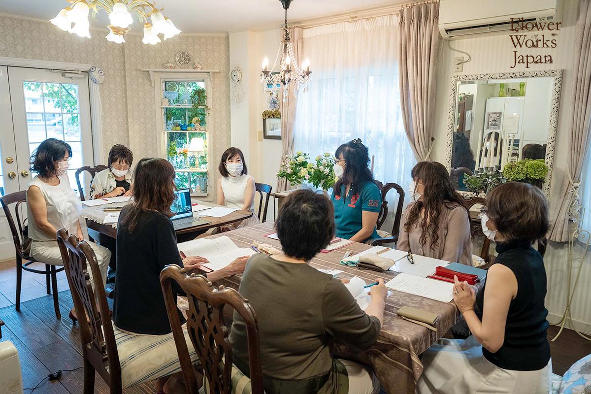 【資格取得】第10回花仕事支援セミナーを開催~花を仕事にしたい人のためのフラワー起業セミナー