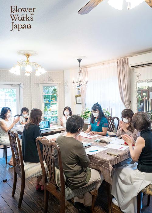 フラワーワークスジャパン花仕事支援セミナー